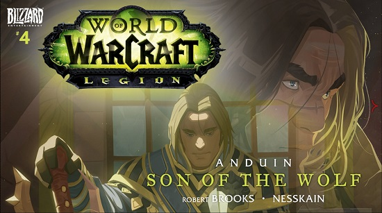 World Of Warcraft New Comic: Anduin Son Of The Wolf.